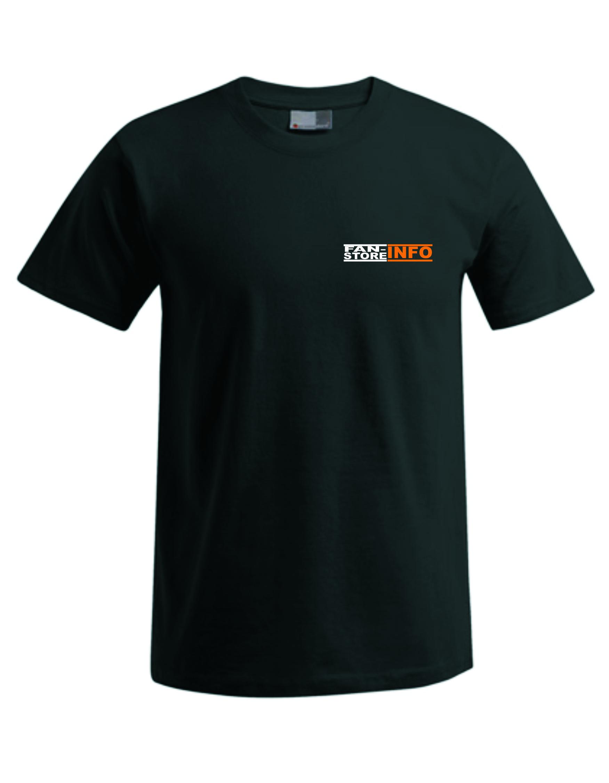T-Shirt inkl. Druck Brust Image